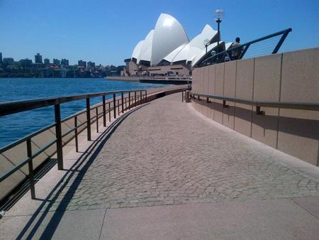 Sydney Opera House Ramp Access