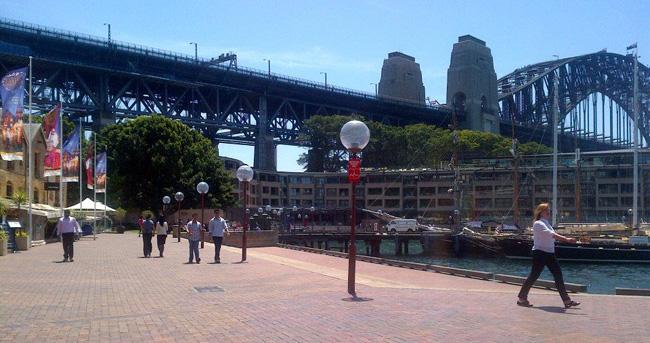 Sydney Shopping - The Rocks